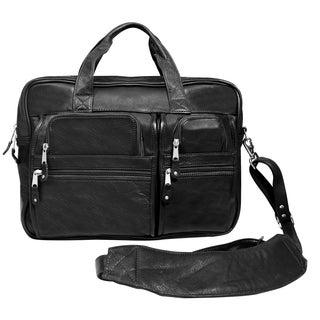 Canyon Outback Blackwater Canyon Black 15.6-inch Laptop Briefcase