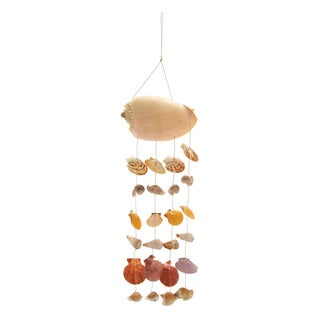 Shell Wind Chime 7 inches wide x 26 inches high