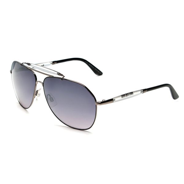 6d201c56696 Shop John Galliano JG0049s Clear Plastic Aviator Style Sunglasses ...