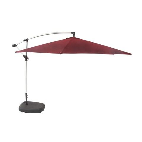 Aluminum Fabric Umbrella 128 inches wide x 94 inches high