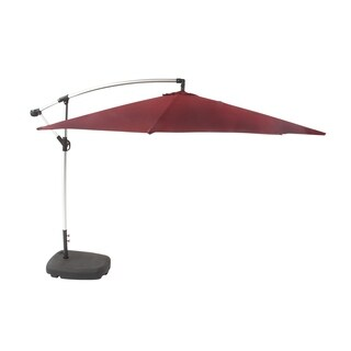Contemporary 128 Inch Aluminum and Fabric Patio Umbrella by Studio 350
