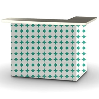 Best of Times Diamonds and Dots Portable Patio Bar