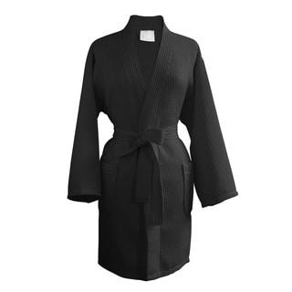 Victoria Luxury Waffle Kimono Robe