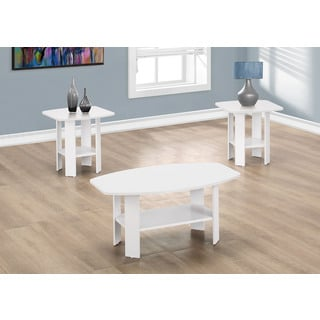 Table Set-3-Piece Set/White