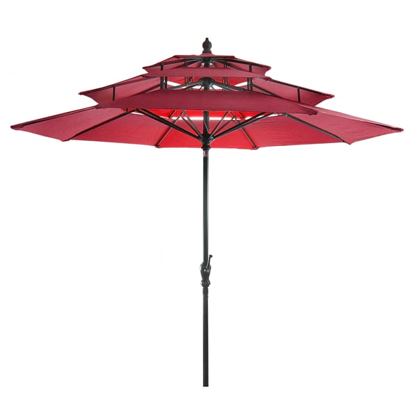 Jordan Manufacturing 3 Tier Umbrella Free Shipping Today