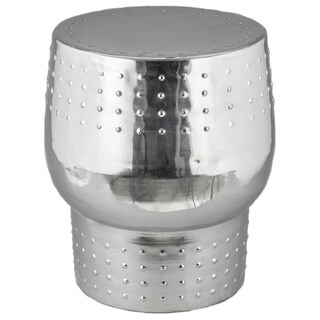 Aviator Garden Stool Nickel