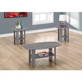 Table Set-3-piece Set/Grey