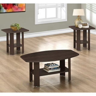 Table Set-3-piece Set/Cappuccino