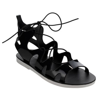Beston CC80 Women's Jelly Gladiator Sandals