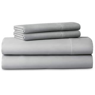 Lucid Woven 600 Thread Count Luxurious Soft Cotton Blend Sheet Set