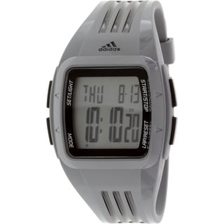 Adidas Men's Grey Polyurethane Duramo ADP3173 Quartz Watch