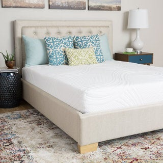 Spring Air 10-inch Full-size Memory Foam Mattress - White