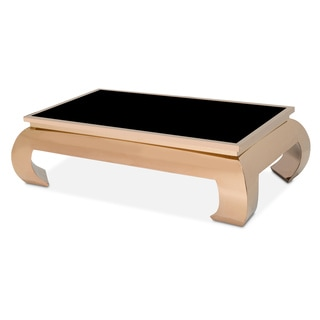 Pietro Rose Gold Cocktail Table by Michael Amini