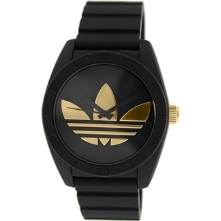 Adidas Men's Black Silicone Santiago ADH2912 Quartz Watch