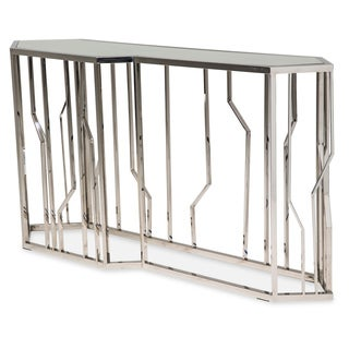 Reflections Console Table by Michael Amini