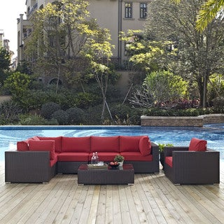 Gather 7 Piece Outdoor Patio Sectional Set