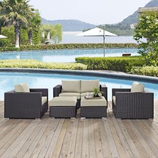 Gather 5 Piece Outdoor Patio Sofa Set