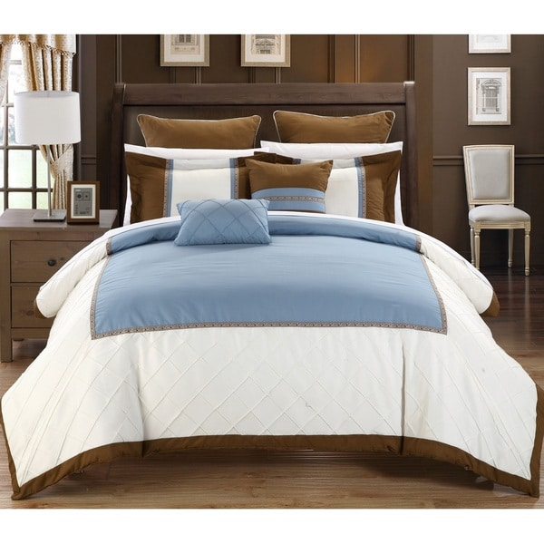 Chic Home Grenville 11-Piece Bed in a Bag Comforter Set