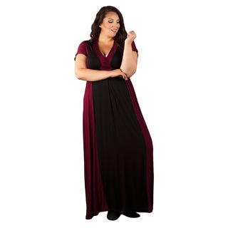 Seal with a Kiss Women's Plus Size Cassandra Maxi Dress