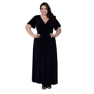 Seal with a Kiss Women's Plus Size Classic Maxi Dress https://ak1.ostkcdn.com/images/products/11405559/P18370790.jpg?impolicy=medium