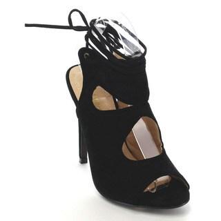 Beston CC72 Women's Peep Toe Stiletto Sandals