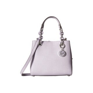 Michael Kors Cynthia Lilac Small North/South Satchel Handbag