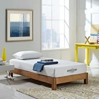 Aveline 8-inch Gel Infused Memory Foam Twin-size Mattress - White
