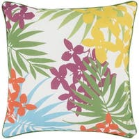 Decorative Academy 20-inch Multi-Color Throw Pillow