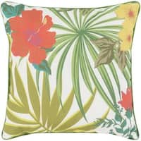 Decorative Airport 20-inch Multi-Color Throw Pillow