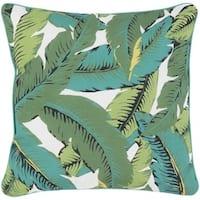 Decorative Adentro 20-inch Emerald Green Throw Pillow