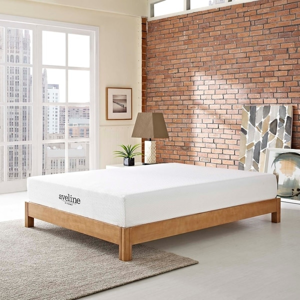 Shop Aveline 10 Inch Gel Memory Foam Mattress Overstock