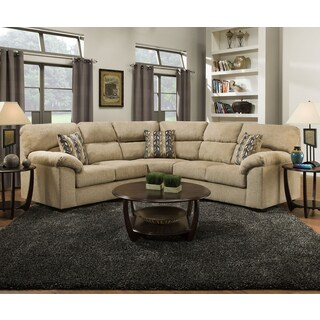 Simmons Upholstery Hometown Sesame Sectional