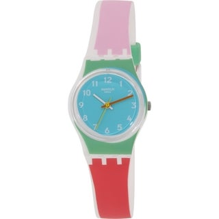 Swatch Women's White Silicone Originals LW146 Swiss Quartz Watch