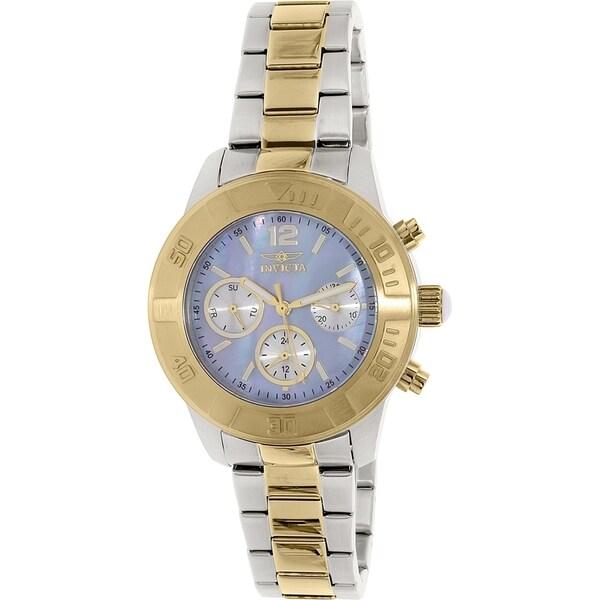 Invicta Women's Stainless Steel Angel Swiss Quartz Watch