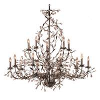 Elk Circeo Deep Rust 15-light Chandelier