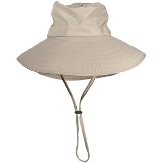 Bughat Work 'n Play Mosquito Net Hat Khaki All-purpose Sun Style Bughat
