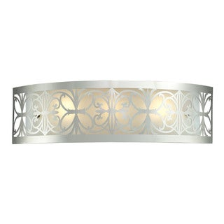 Elk Willow Polished Chrome 3-light Vanity