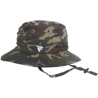 Bughat Traditional Boonie Mosquito Net Hat Safari Camo Adult Xxl- Outdoor Hat Sun and Bug Protection Boonie Hat