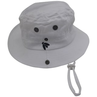 Bughat Traditional Boonie Mosquito Net Hat White Youth Outdoor Hat Sun and Bug Protection Boonie Hat