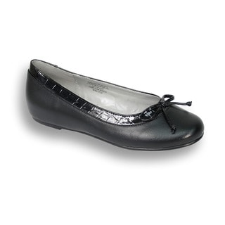 Fic Peerage Abby Women's Extra Wide Width Leather Flats