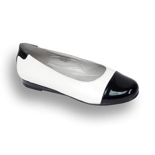Fic Peerage Women's Patsy Extra Wide Width Leather Flats