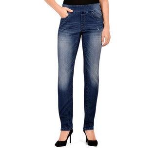 Bluberry Women's Slim Leg Denim