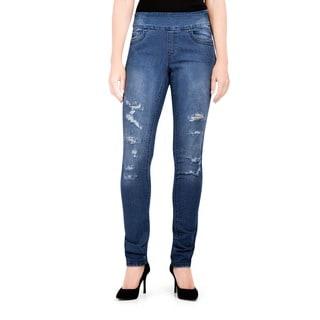 Bluberry Women's Lizy Slim Leg Denim