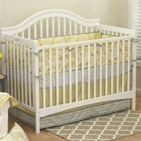 The Peanut Shell Stella Crib Bumper