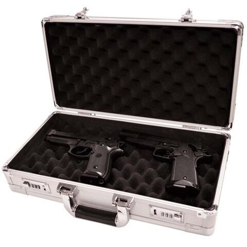 Magnum Silver Pistol Case