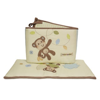 Little Haven Go Bananas Organic Crib Bumper