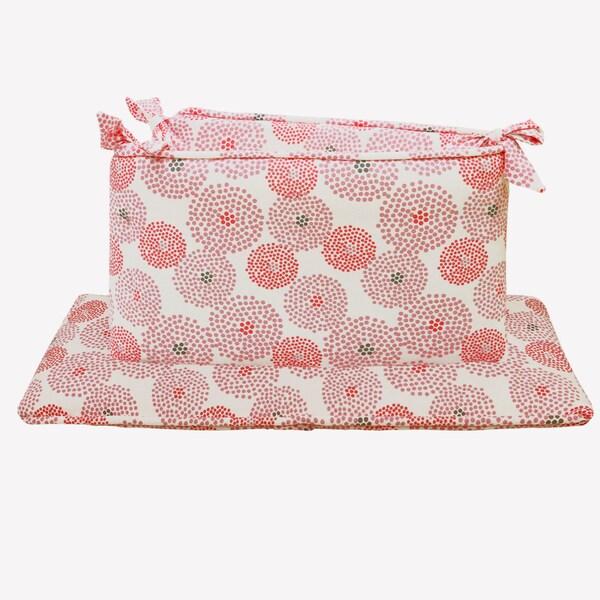 Shop Petit Nest Chloe Jersey Crib Bumper Free Shipping