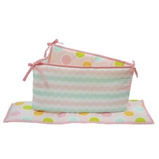 Belle Sea Sweetie Crib Bumper