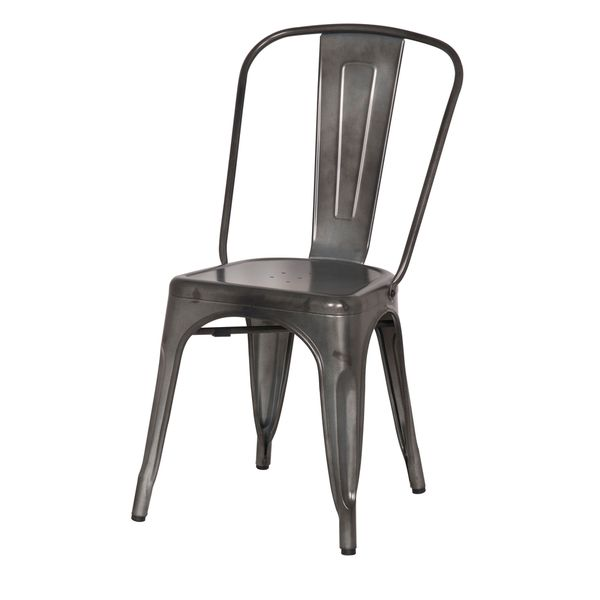 Shop Aurelle Home French Cafe Vintage Dining Chair Set Of 2 Free Shipping Today Overstock 11407456