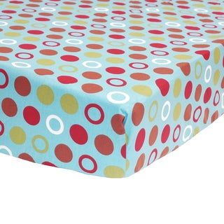 Belle Sports Star Fitted Crib Sheet